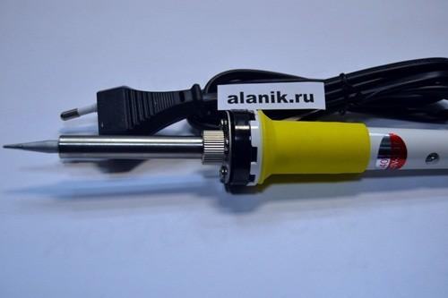 Инструмент авто паяльник 12в 30 вт zd200ndq (керамический нагреватель)ce под прикуриватель 88-2075 s-line