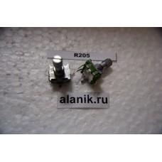 Энкодер 12х13мм,руч.металл звезда 15мм R205