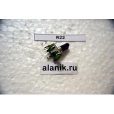 Энкодер 12х13мм,ручка пластик15мм,R22
